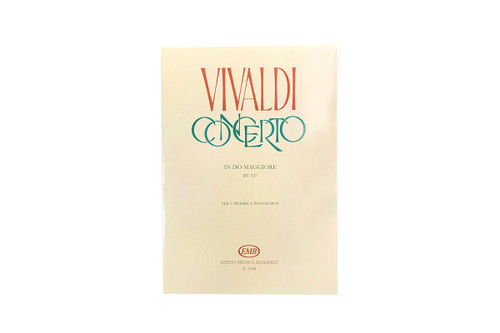 Concerto in C for 2 Trumpets, Strings & Harpsichord, RV 537 - Vivaldi