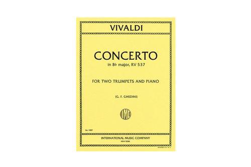 Concerto in Bb Major for 2 Trumpets and Piano - Vivaldi