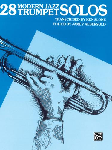 28 Modern Jazz Trumpet Solos Book 1 - Slone & Aebersold
