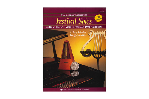 Standard Of Excellence: Festival Solos Book 1 With CD
