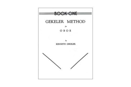 Gekeler Method For Oboe Book 1