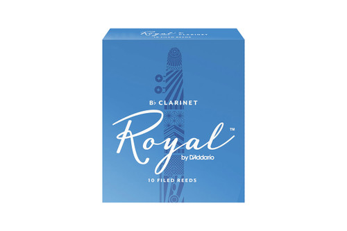 Royal by D'Addario Bb Clarinet Reeds Box of 10