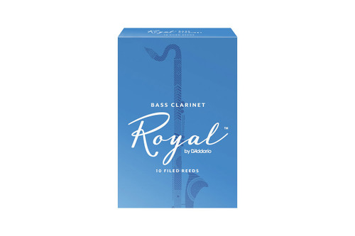 Royal by D'Addario Bass Clarinet Reeds Box of 10