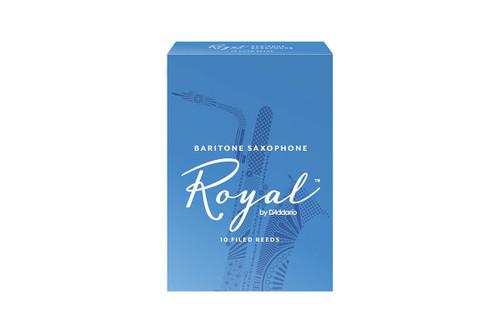 Royal by D'Addario Baritone Saxophone Reeds Box of 10