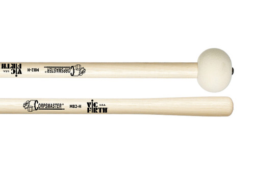 Vic Firth Corpsmaster MB2H Marching Bass Drum Mallets