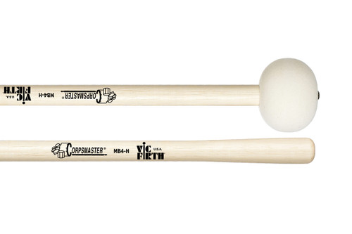 Vic Firth Corpsmaster MB4H Marching Bass Drum Mallets