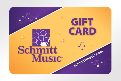 Schmitt Music Gift Card