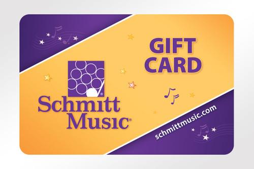 Schmitt Music Gift Card