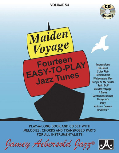 Maiden Voyage - Jazz Play-A-Long Volume 54
