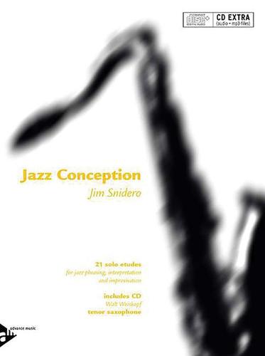 Jazz Conception for Tenor Saxophone - Jim Snidero