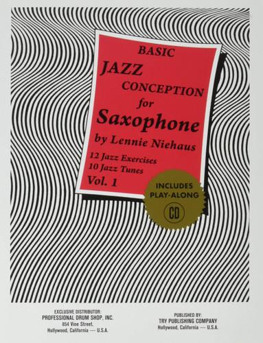 Basic Jazz Conception for Saxophone Vol. 1 - Lennie Niehaus