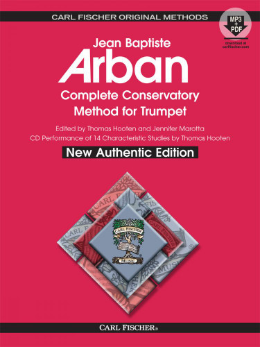 Arban Complete Conservatory Method for Trumpet Spiral Bound