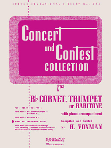 Concert and Contest Collection for Bb Cornet, Trumpet or Baritone