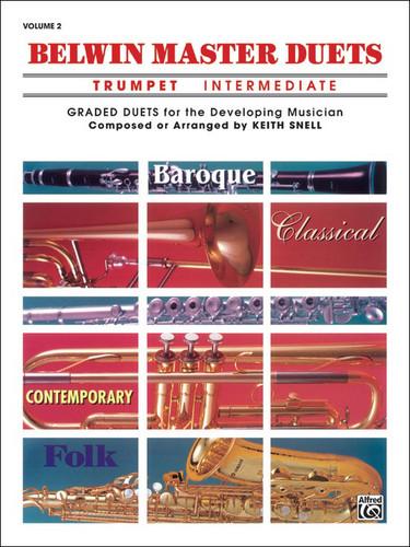 Belwin Master Duets - Trumpet - Intermediate - Volume 2