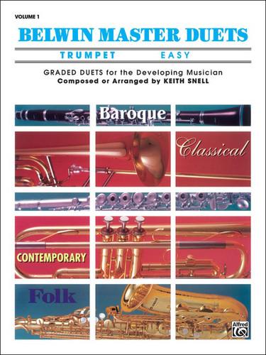 Belwin Master Duets - Trumpet - Easy - Volume 1