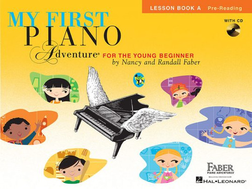 My First Piano Adventure for the Young Beginner - Lesson Book A - Pre-Reading