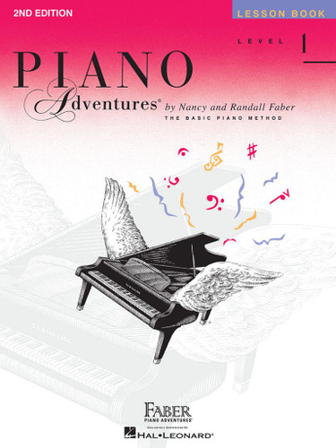 Piano Adventures - Lesson Book Level 1 - 2nd Edition - Faber