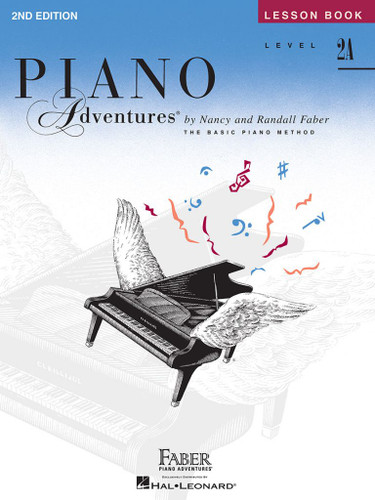 Piano Adventures - Lesson Book Level 2A - 2nd Edition - Faber