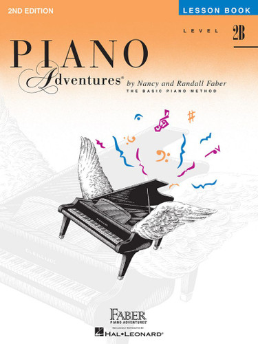 Piano Adventures - Lesson Book Level 2B - 2nd Edition - Faber