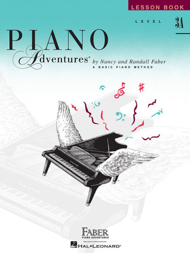 Piano Adventures - Lesson Book Level 3A - 2nd Edition - Faber