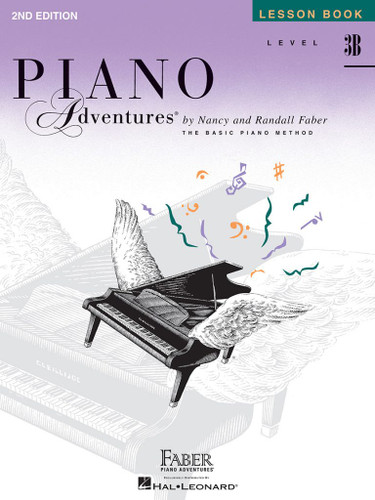 Piano Adventures - Lesson Book Level 3B - 2nd Edition - Faber