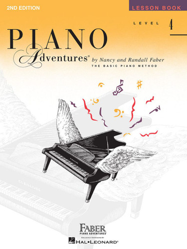 Piano Adventures - Lesson Book Level 4 - 2nd Edition - Faber