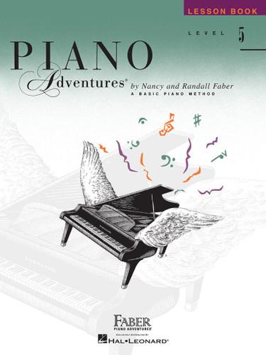 Piano Adventures - Lesson Book Level 5 - Faber