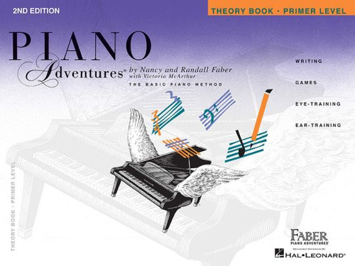 Piano Adventures - Theory Book Primer Level - 2nd Edition - Faber