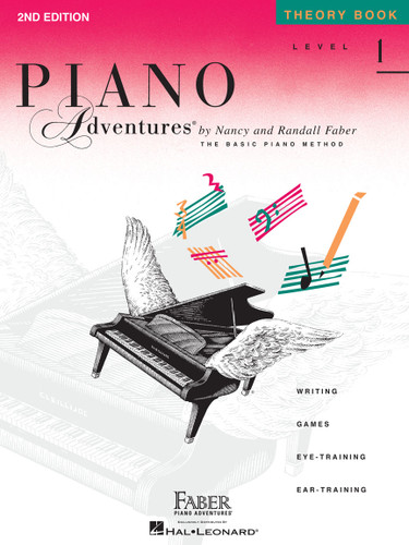 Piano Adventures - Theory Book Level 1 - 2nd Edition - Faber