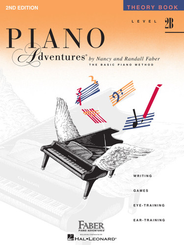 Piano Adventures - Theory Book Level 2B