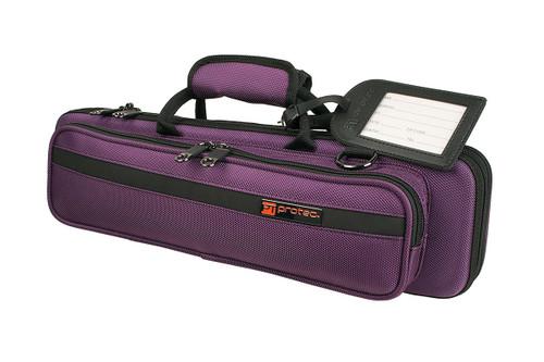 PROTEC Slimline Flute Pro Pac Case - Purple PB308PR (PB308PR)