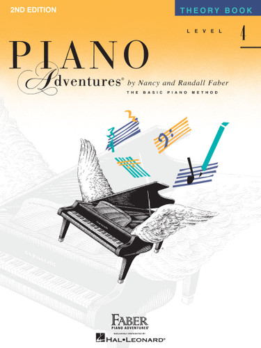 Piano Adventures - Theory Book Level 4 - 2nd Edition - Faber