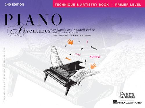 Piano Adventures - Technique & Artistry Book - Primer Level - Faber