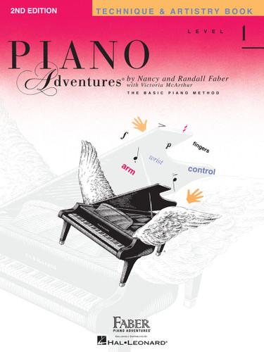 Piano Adventures - Technique & Artistry Book - Level 1