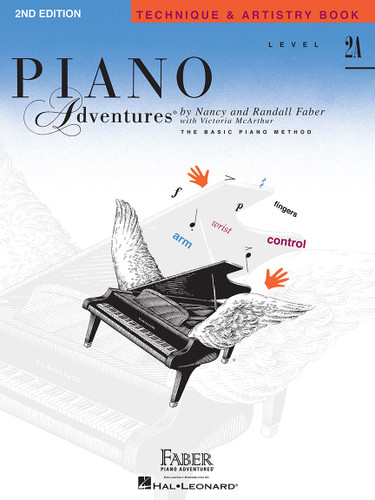 Piano Adventures - Technique & Artistry Book Level 2A - Faber