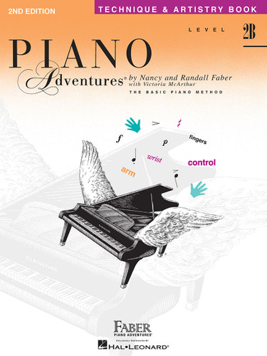 Piano Adventures - Technique & Artistry Book Level 2B - Faber