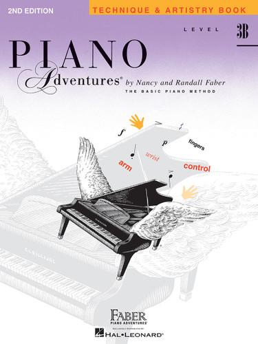 Piano Adventures - Technique & Artistry Book Level 3B - Faber
