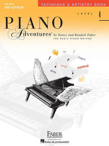 Piano Adventures - Technique & Artistry Book Level 4 - Faber