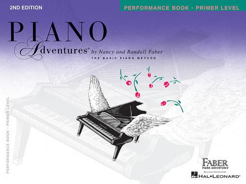 Piano Adventures - Performance Book Primer Level - Faber