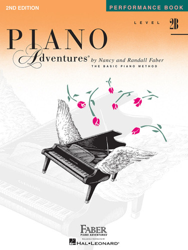 Piano Adventures - Performance Book Level 2B - Faber