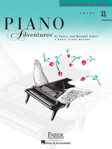 Piano Adventures - Performance Book Level 3A - Faber