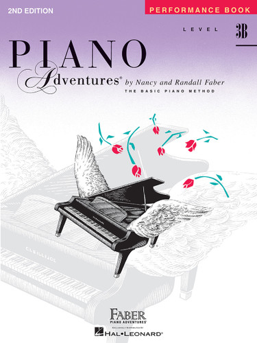 Piano Adventures - Performance Book Level 3B - Faber