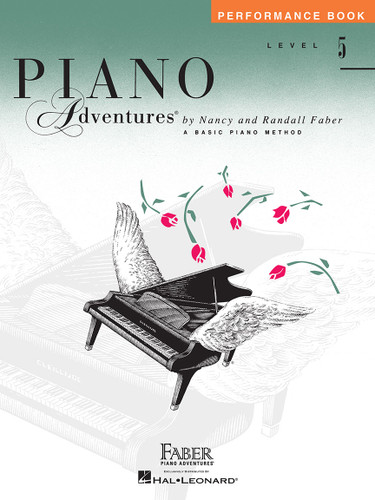 Piano Adventures - Performance Book Level 5 - Faber