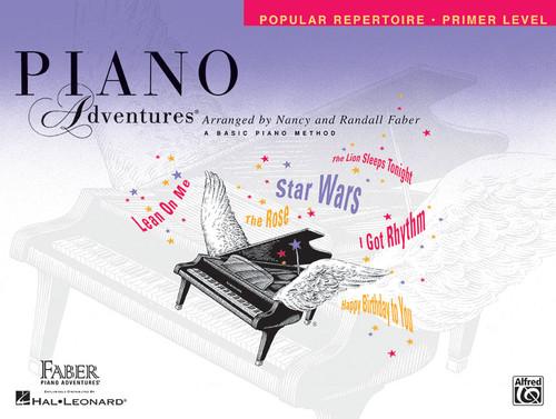 Piano Adventures - Popular Repertoire Primer Level - Faber