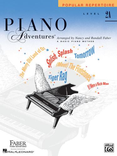 Piano Adventures - Popular Repertoire Level 2A - Faber