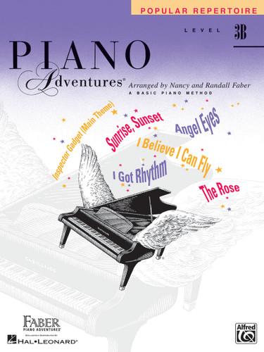 Piano Adventures - Popular Repertoire Level 3B - Faber