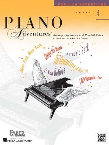 Piano Adventures - Popular Repertoire Level 4 - Faber