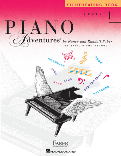 Piano Adventures - Sightreading Book Level 1 - Faber
