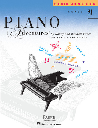 Piano Adventures - Sightreading Book Level 2A - Faber