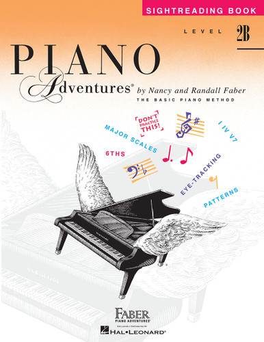 Piano Adventures - Sightreading Book Level 2B - Faber